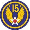 15th Air Force badge