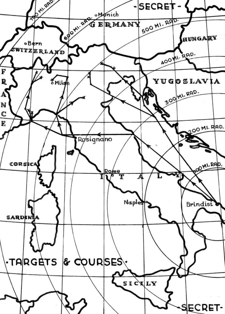 Secret Italy map