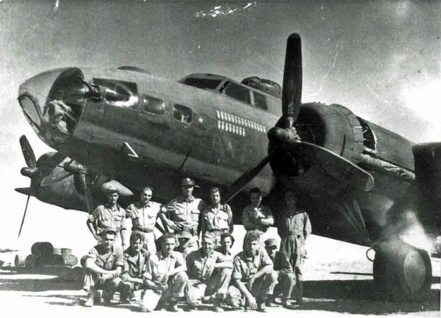 B-17 Flying Fortress of the 122nd BS, later 885th BS. Blida, Algeria. April 1944.